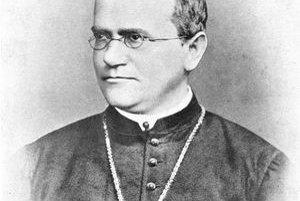 Gregor Johann Mendel. Je jedným zo zakladateľov genetiky.