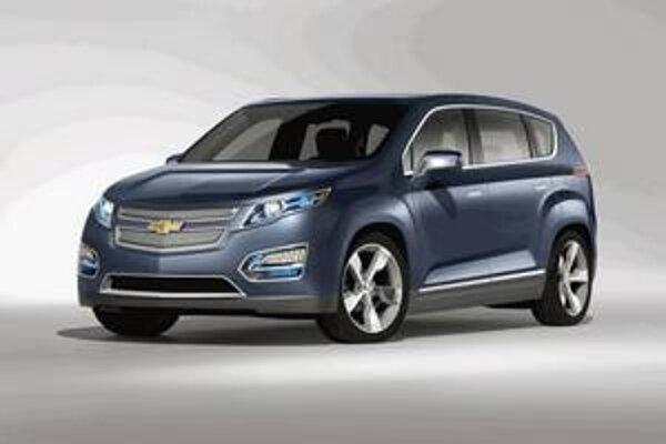 Chevrolet Volt MPV5. Štúdia kombi verzie elektromobilu Volt mala premiéru na autosalóne v Pekingu.