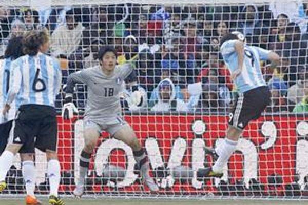 Prvý gól. Gonzálo Higuaín a 33. minúta.