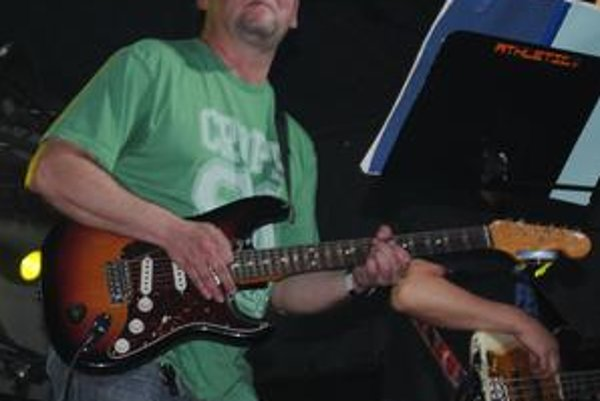Radek Pastrňák. Frontman kapely Buty.