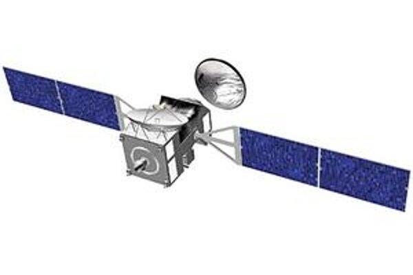 Obr. NASA - ESA Mars. Kresba sondy ExoMars Trace Gas Orbiter. Hlavným cieľom tejto sondy je zisťovanie rôznych plynov v atmosfére Marsu.