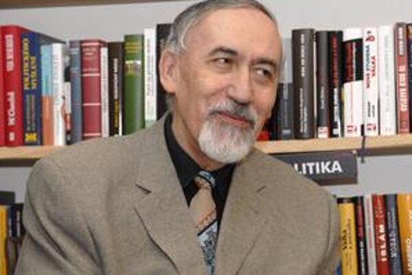 Stanislav Rakús. Čerstvý laureát prestížnej ceny.