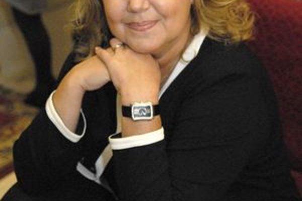 Poriadkumilovná Ľ. Blaškovičová túžila po policajnej uniforme.