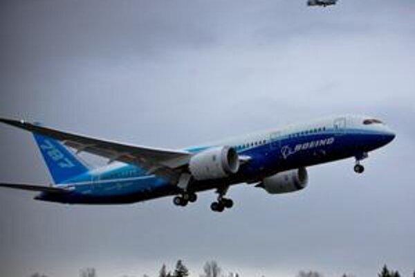 Nový Boeing B787 Dreamliner. Prvé lietadlá sa do služby u leteckých spoločností dostanú namiesto jari 2008 až koncom roka 2010.