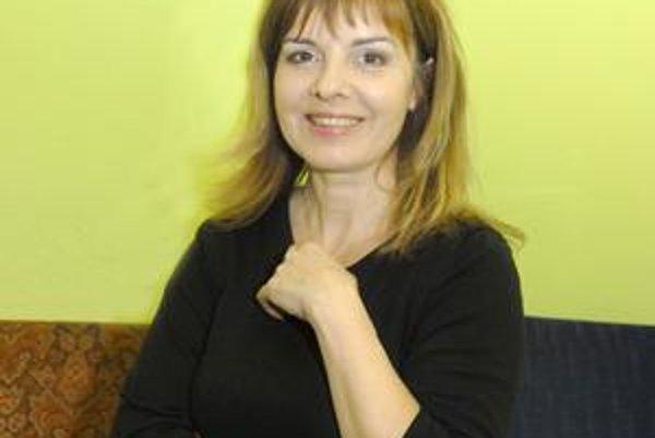 Zuzana Tlučková. Jej nový dom je pre ňu balzamom na dušu.