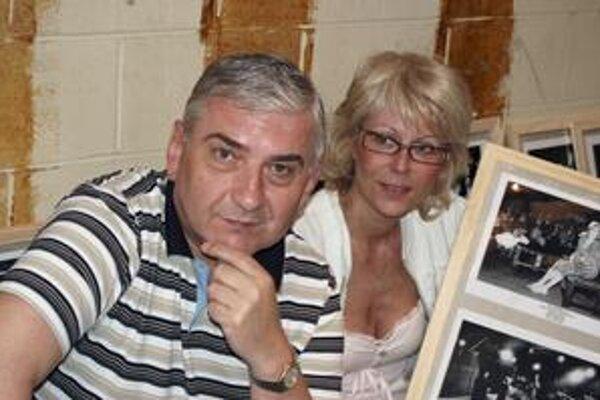 S manželkou Zuzanou.