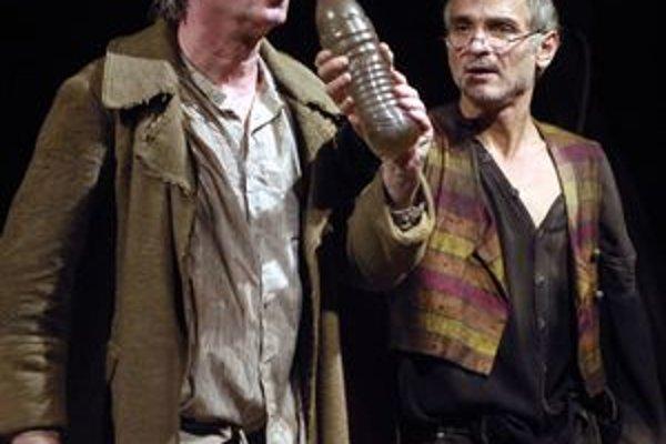 Jiří Lábus a Oldřich Kaiser sa dnes a zajtra predstavia v košickom Divadle Cassia v osobitej úprave hry Don Quijote.