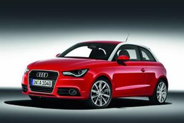 """Nové Audi A1. """"Živú"""" premiéru bude mať nové malé audi na ženevskom autosalóne."""