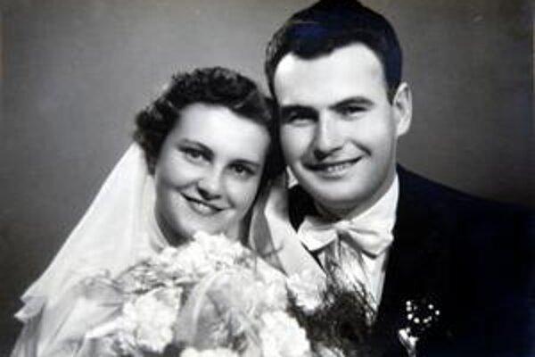 Bečkovci. Na svadobnej fotografii.