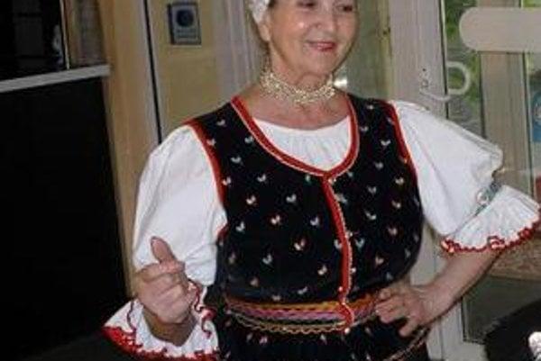 Jubilantka Marka Mačošková nedávno oslávila sedemdesiatku.