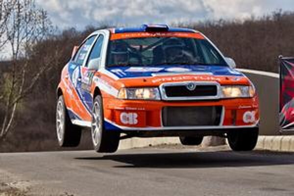 Už minulosťou. Wéercéčko v rukách J. Béreša jr. je už minulosťou, v Prešove bude jazdiť na Škode Fabia S2000.