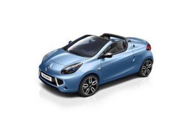 Kupé-roadster Renault Wind. Novinka firmy Renault má kovovú sklápaciu striešku.
