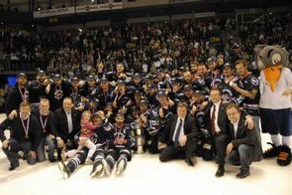 HC Košice - extraligový majster v sezóne 2009/2010.