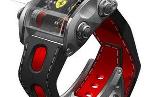 Hodinky Ferrari Scuderia One. Na trh sa dostane len 60 týchto exkluzívnych hodiniek.