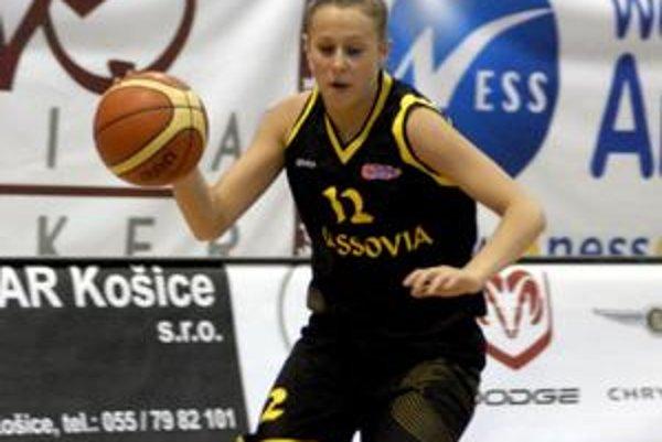 Prispela k záchrane. Adriana Firkaľová si v A-divízii môže zahrať aj o rok.