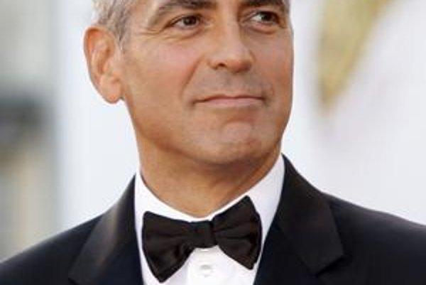 George Clooney. Tentoraz mu došla trpezlivosť.