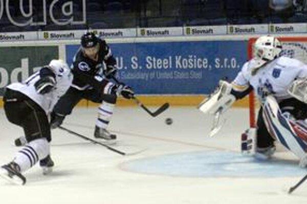 Strelec. Švéd Höglund dal jeden z dvoch gólov Košíc.