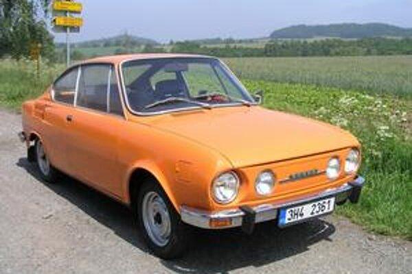 Kupé Škoda 110 R. Dvojdverové kupé 110 R sa vyrábalo až do roku 1980.