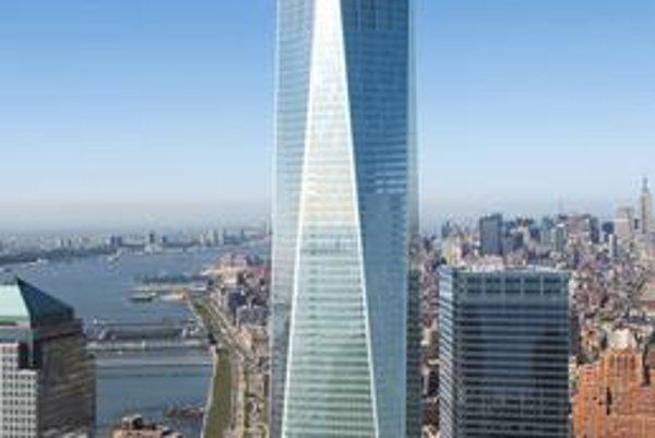 Veža 1 World Trade Center. Autorom definitívneho návrhu veže 1WTC je David Childs.