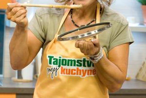 Kamila je v hereckej brandži vychýrenou kuchárkou.
