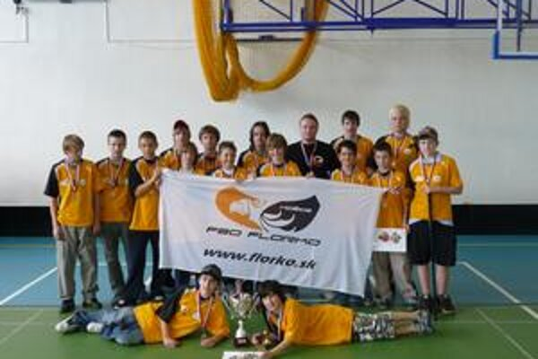 Regionálnym majstrom v kategórii mladších žiakov sa stalo družstvo Fbo Florko Košice.