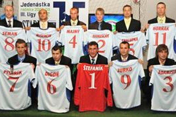 Jedenástka ročníka 2008/2009. Najlepší z najlepších treťoligistov uplynulého ročníka.