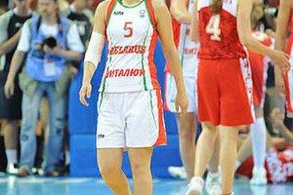 Nová legionárka. Aliaksandra Tarasovová bola aj na tohtoročných ME v Lotyšsku.
