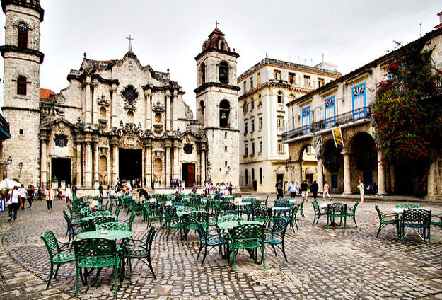 Katedrála v Havane.