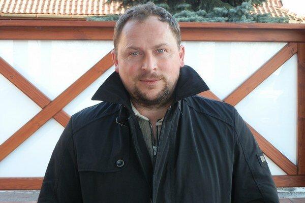 Marián Solotruk. Skúsený lodivod FK Plavnica.