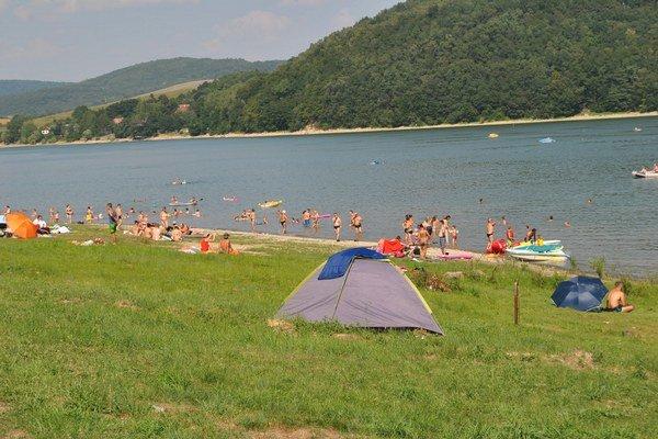 Rekreačná oblasť Valkov.