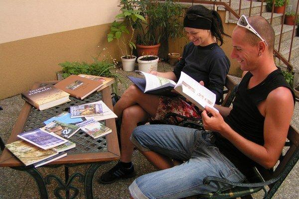 Letná čitáreň v Spišskej Sobote nie je len o knižkách, ale aj o zaujímavých prednáškach.