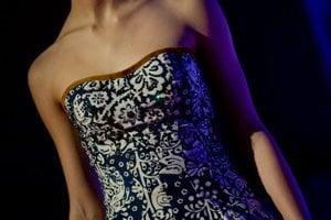 Modrotlač je indigom namodro farbená látka s tlačenými vzormi.