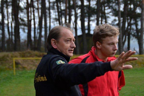 Tréner. Tréner MFK Dobšiná Július Strelka.
