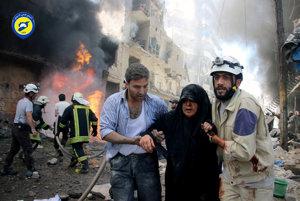 Epicentrom bojov je mesto Aleppo.