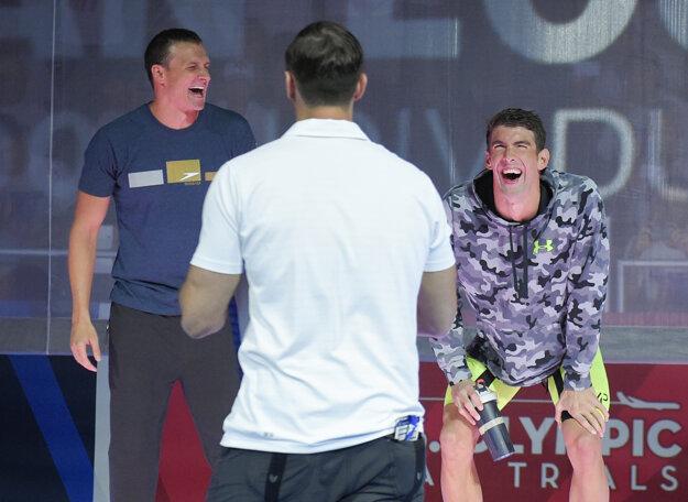 Ryan Lochte (vľavo) a Michael Phelps sú aj veľmi dobrými kamarátmi.
