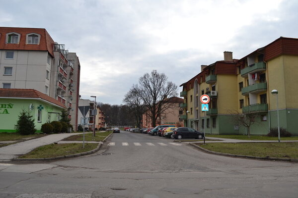 Ulica Komenského.