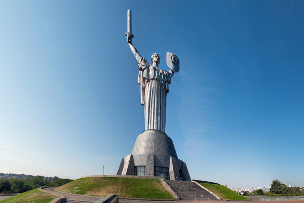 Kyjevská Matka vlasť.