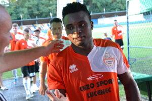Tegbo Dum - Mene Best po víťaznom zápase Lučenca.
