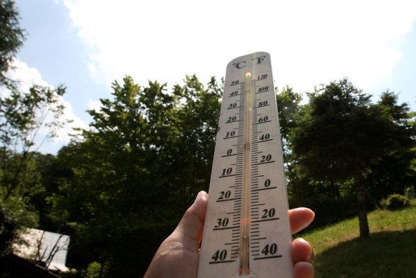 Búrky z teplôt nás neminú ani koncom tohto týždňa.