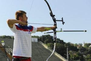 Boris Baláž v akcii na olympiáde v Riu.