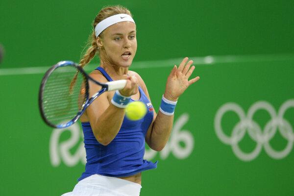 Anna Karolína Schmiedlová postúpila v Riu do druhého kola.