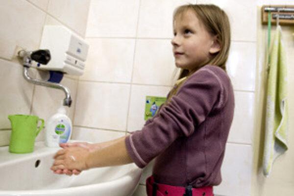 Hygiena je dôležitou prevenciou pred vírusovými ochoreniami.