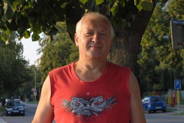 Výherca 1. ceny Dušan Mergeš zTrebišova.