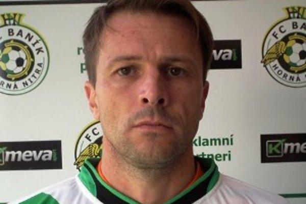 Peter Bugár patril k oporám seniorského A-mužstva FC Baník Horná Nitra.