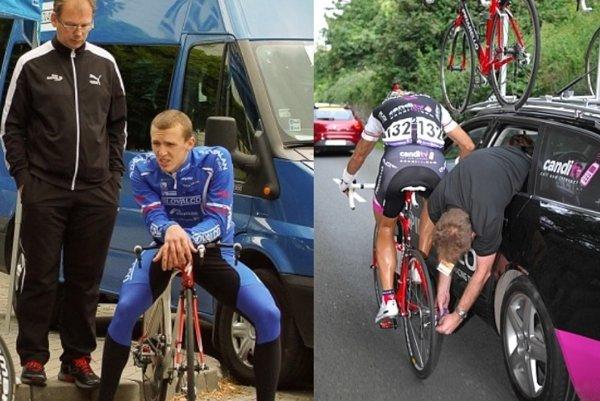 Cyklistický mechanik Peter Doležal.