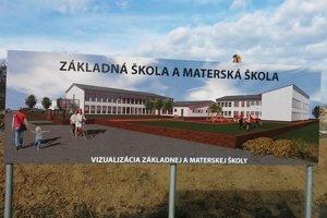 Takto by mala vyzerať nová škola po úplnom dokončení.