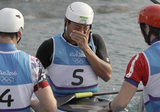 Japonec Haneda sa v cieli v Riu od šťastia rozplakal.