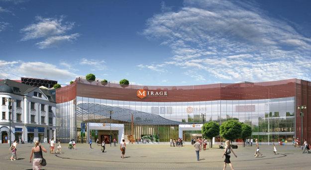 Budúca tvár obchodného centra.