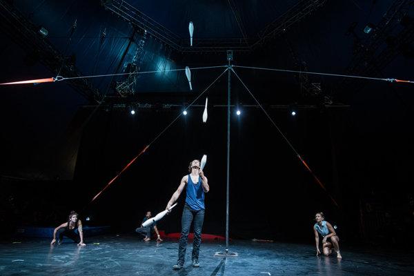 Okrem hudby je na Szigete bohato zastúpené aj cirkusové umenie.
