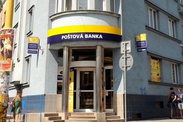 Poštová banka.